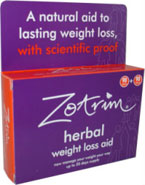 Zotrim herbal slimming aid