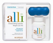 Alli weight loss pills